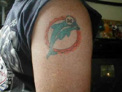 Miami Dolphin Tattoo Design Picture Gallery - Miami Dolphin Tattoo Ideas