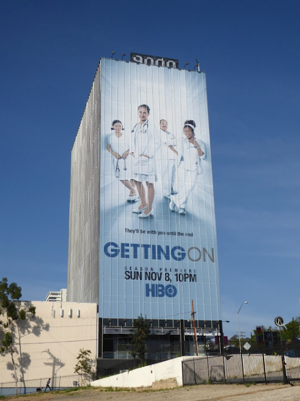 Giant Getting On season 3 billboard