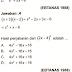 Pembahasan Soal Ujian Nasional Matematika Tahun 2005