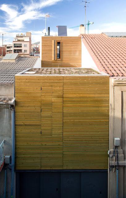 Casa entre medianeras en sant feli de llobregat dataae for Blog arquitectura y diseno