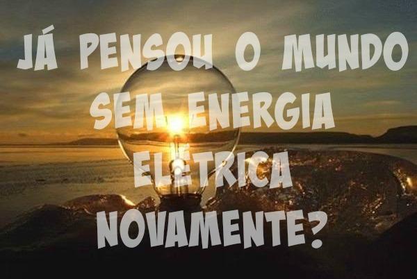 mundo sem luz, sem energia elétrica, apagão