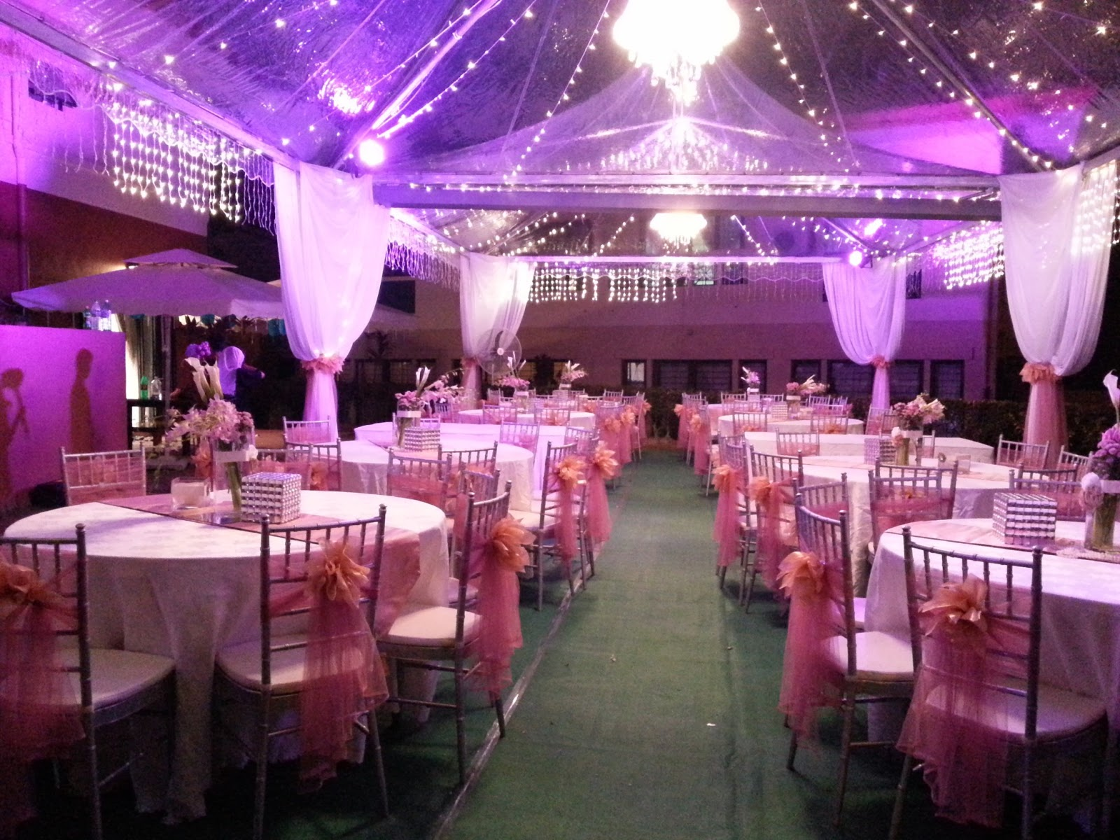 Sani Canopy Marquee Tent
