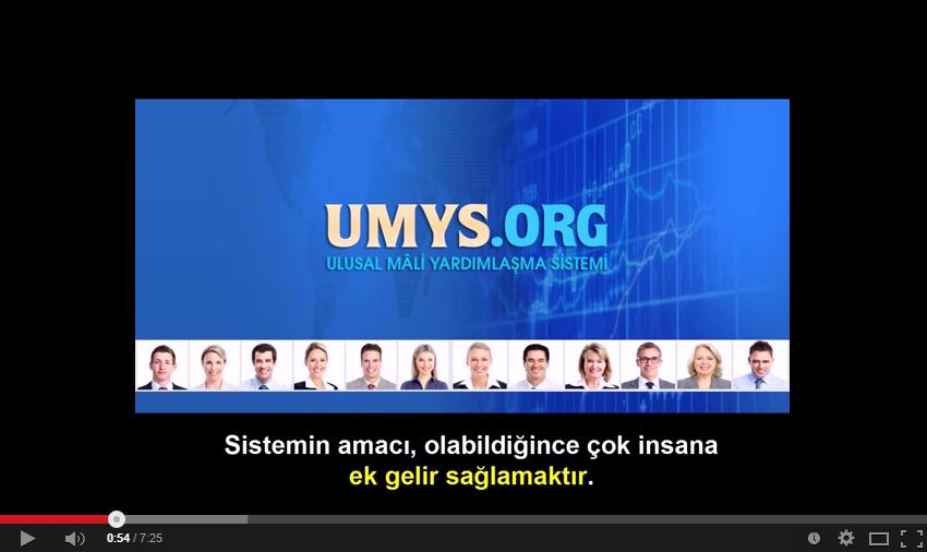 Umys nedir,umys.org nedir