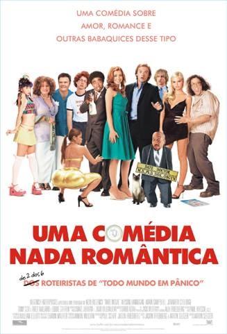 Filme Poster Uma Comédia Nada Romantica DVDRip XviD & RMVB Dublado