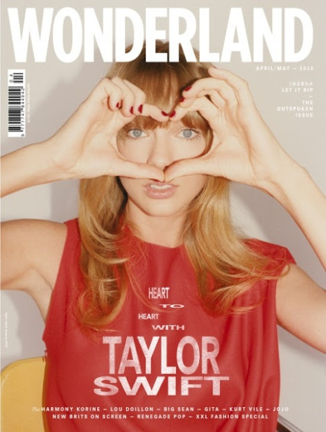 Taylor Swift by Tung Walsh for Wonderland Magazine April 2013