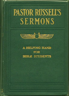 Pagan Sun Symbol On The Cover Of His Books For Jehovahs Witnesses