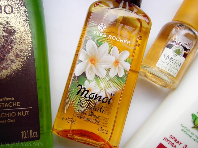 Yves Rocher Monoi de Tahiti Dry Body Oil