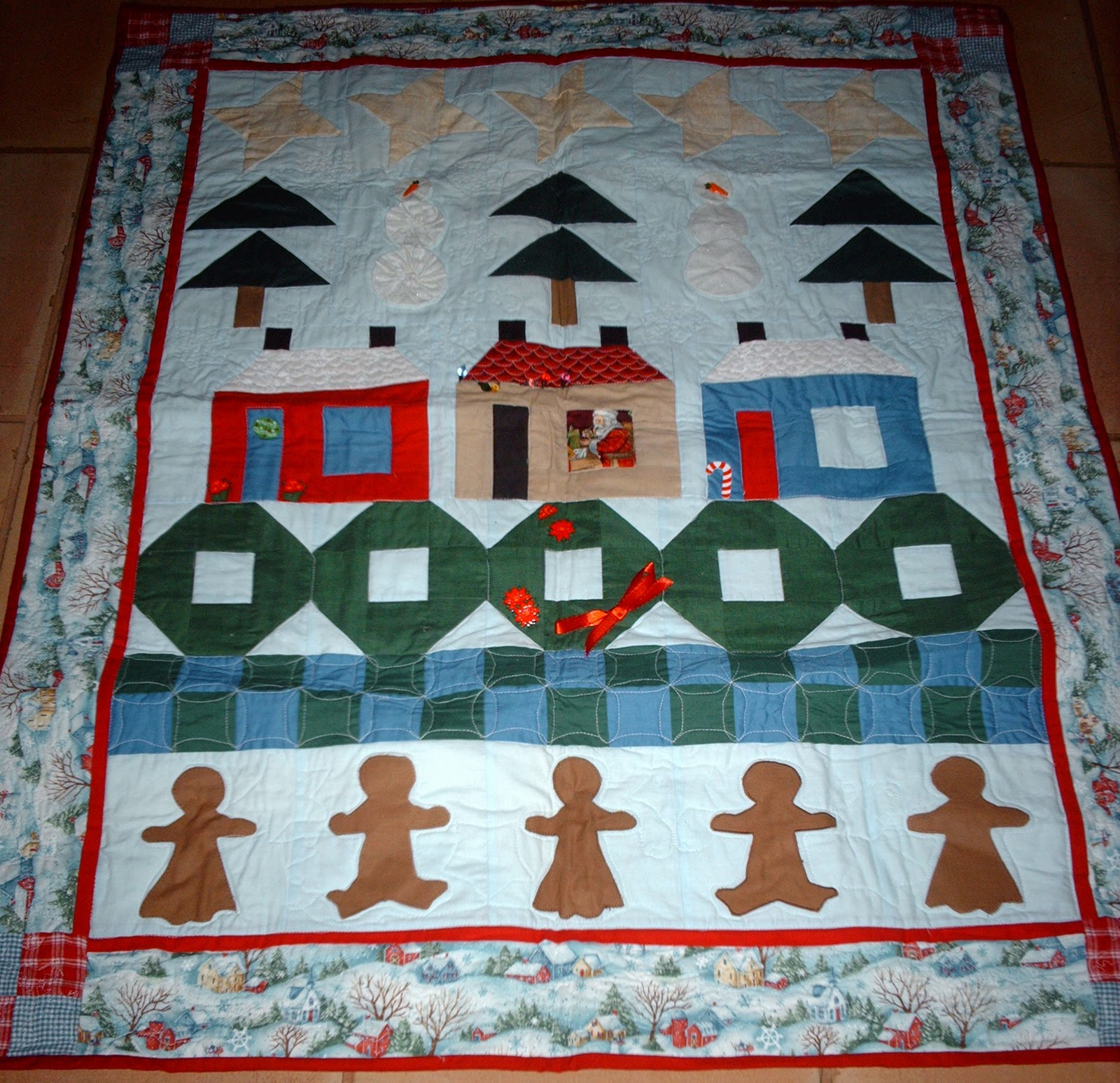 Array thimbleweed quilters row by