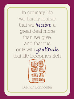 Grateful Life - Journaling Cards - Day 22