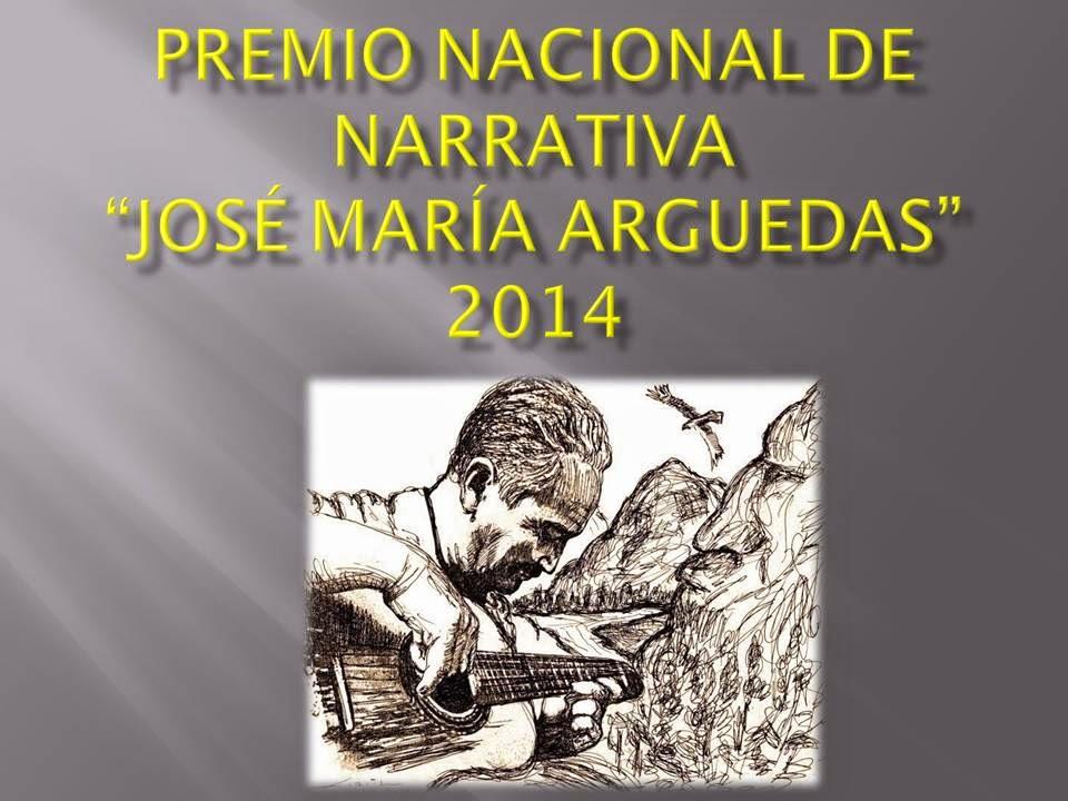 Premio Nacional de Narrativa José María Arguedas 2014