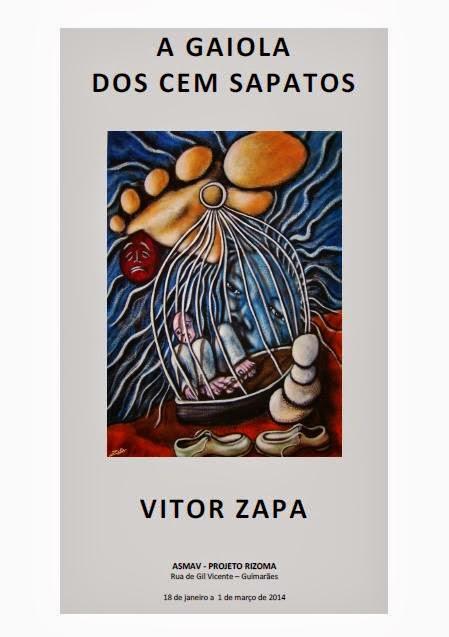 exposição de Vitor Zapa
