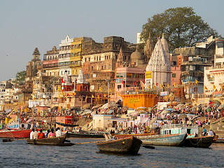 Varanasi and Ganges