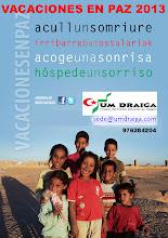 ACOGE UN NIÑO/A SAHARAUI