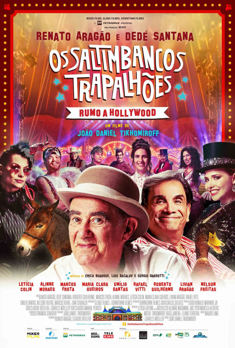 Filme Poster Os Saltimbancos Trapalhões: Rumo a Hollywood