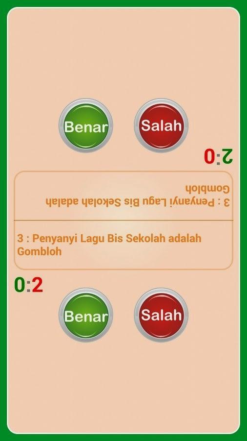 Game Edukasi Kuis: Kuis Benar Atau Salah APK Android ...