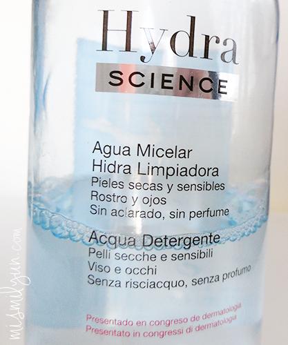 agua micelar cosmetiques