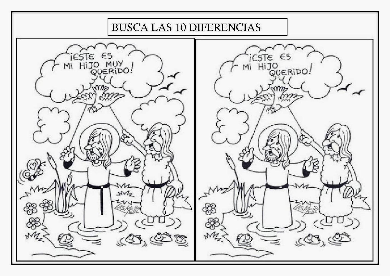 Fantástico Jesús Bautizado Para Colorear Colorear Jesús Bautizado ...