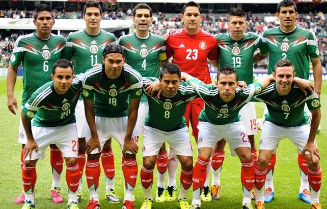 Mexiko an der Fussball-WM in Brasilien