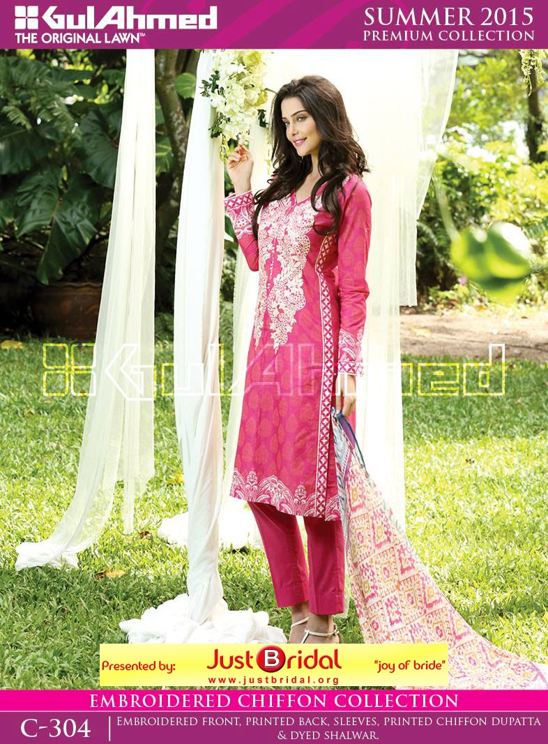 gul ahmad summer lawn collection 2015