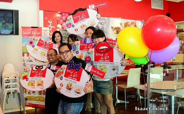 Secret Recipe Sweet16 Anniversary Promo Deals