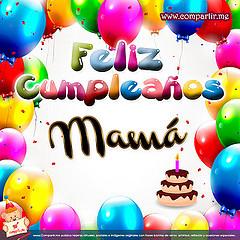 Frases Para Cumpleaños: Feliz Cumpleaños Mamá