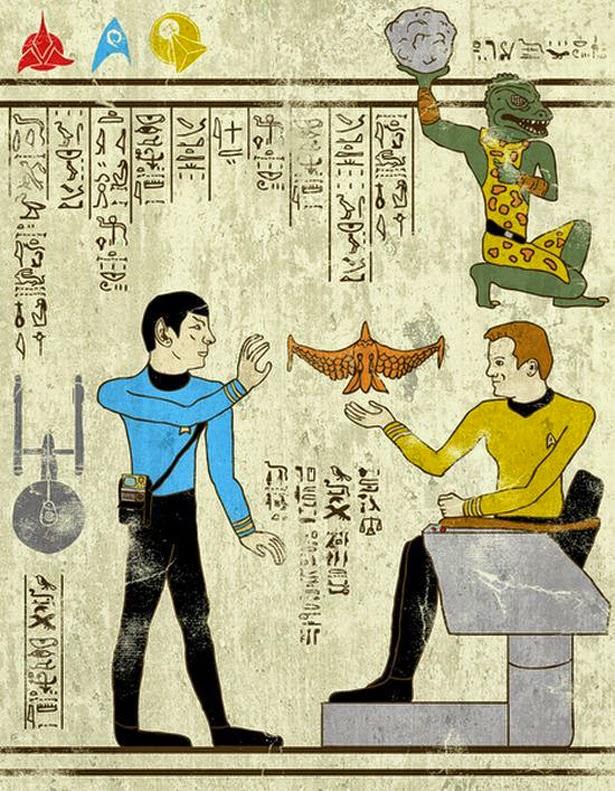 Jeroglifico Star Trek