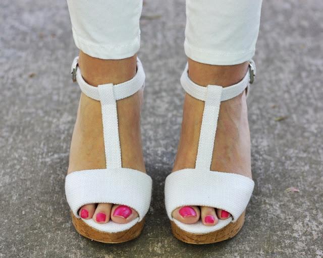 sandalias blancas zara
