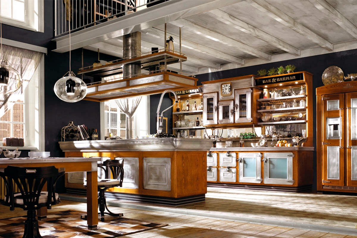 Deco cocinas vintage actualizadas virlova style - Cocinas retro vintage ...