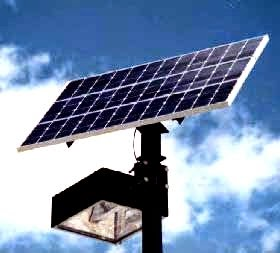 medium solar street light designing