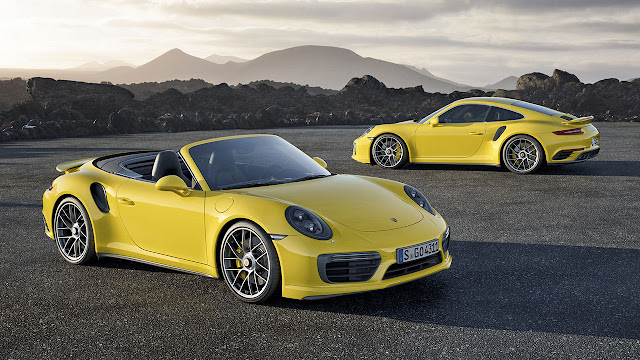 The Porsche 911 Turbo S