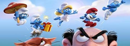 Sony anuncia novo filme dos Smurfs para 2017