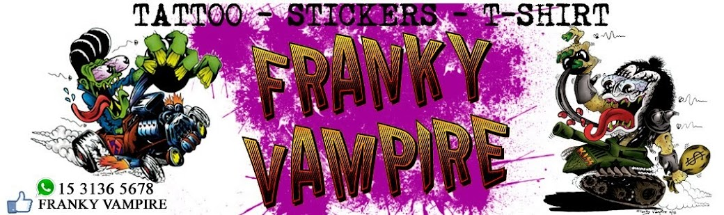 "FRANKY VAMPIRE  ""Tattoo & Stickers"""