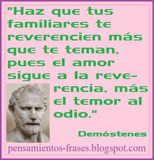 frases de Demóstenes.