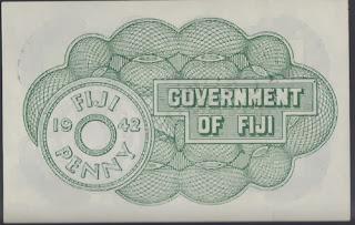 Fiji 1 Penny 1942 P# 47