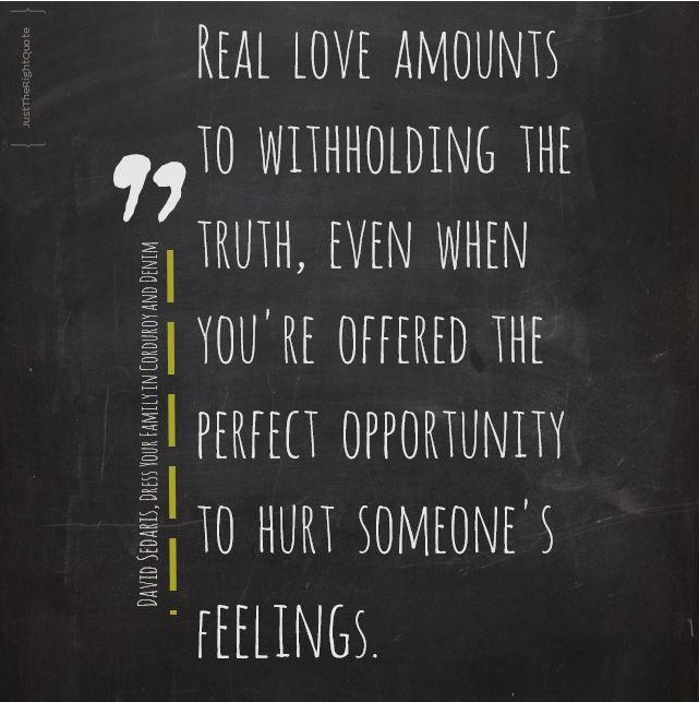 Real love feelings