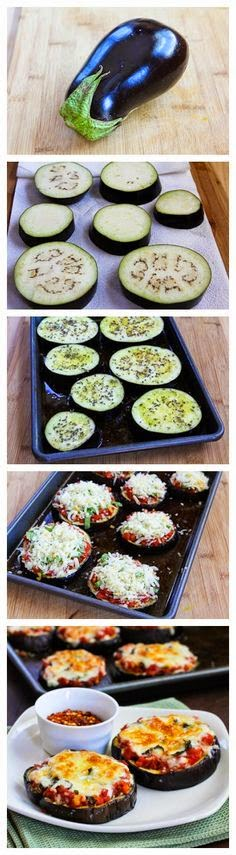 Eggplant Pizza Bite Recipe