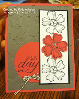 Stampin' Up! Birthday Blossoms stamp set