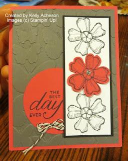 Stampin' Up! Birthday Blossoms stamp set