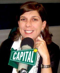 Rosa María Palacios en radio CAPITAL