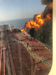 2 Tankers Damaged After Torpedo Attack Near Strait Of Hormuz; Oil Soars