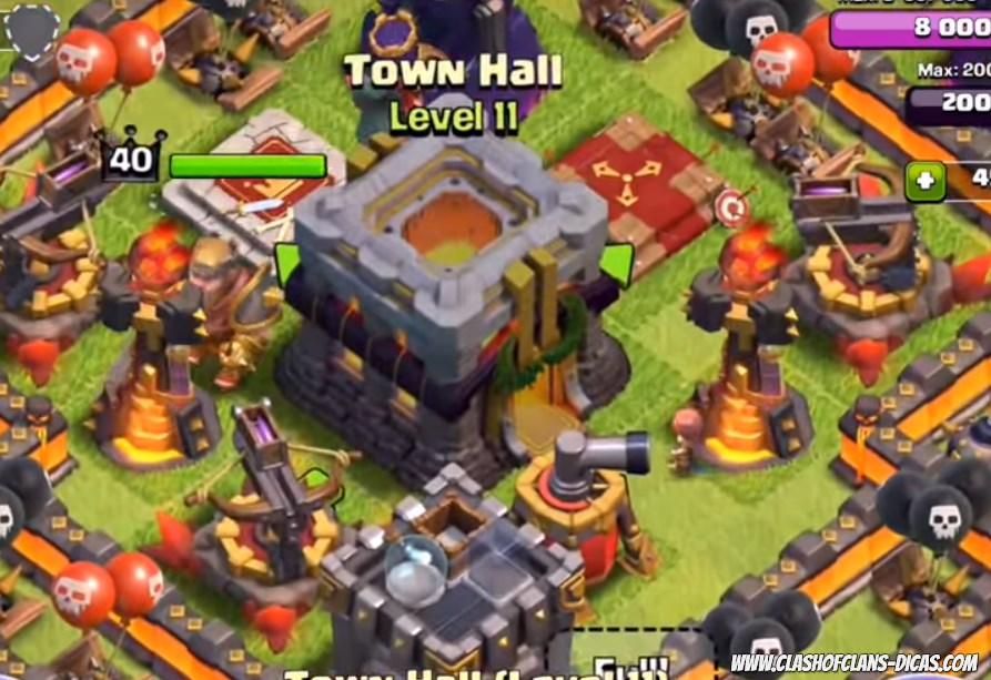 Clash Of Clans Do Buildings Block Attackers