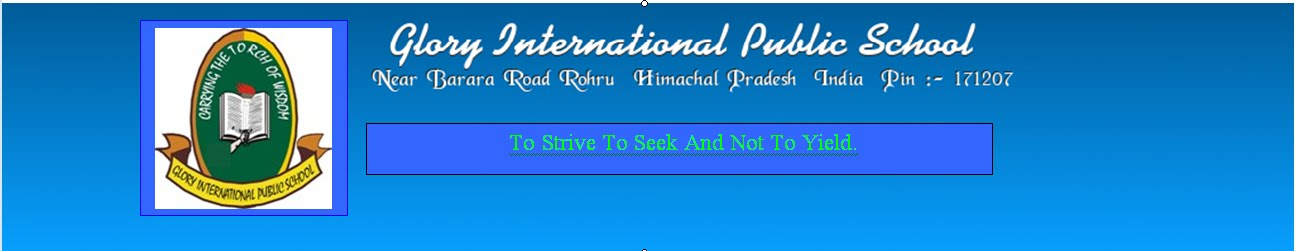 Glory International Public School Rohru