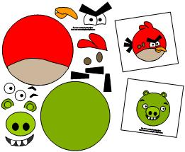 fun angry bird printable you can choose from several angry birds ...