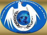 Embaixadora da Paz -- Cercle Universel Des Ambassadeurs De La Paix - Suisse/France
