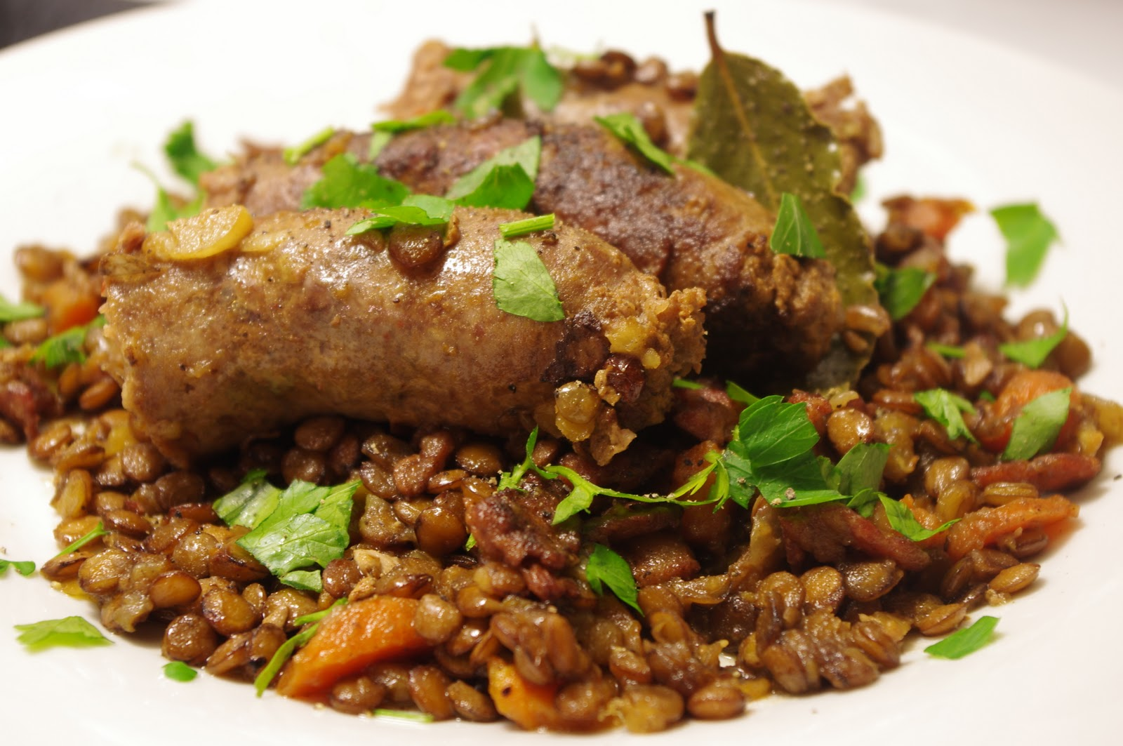 Italian Sausages With Lentils | Cook Gordon Ramsay