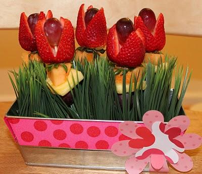 Ideas By Chaya Fresh Fruit Flower Arrangements