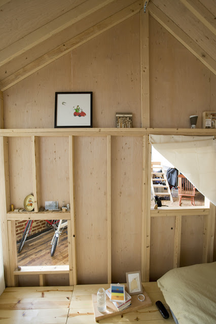 Cabañas en un loft-Cabin in a loft - Terri Chiao - Brooklyn, New York