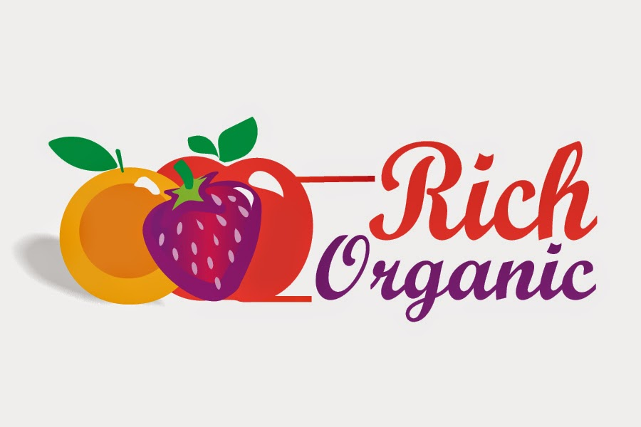 Organic Logo Design Logo Design For a Organic Fruit Farming Company