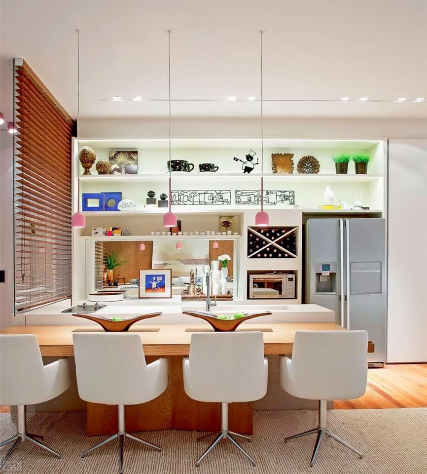 Blog De Decora O Arquitrecos Cozinhas Americanas Colet Nea De