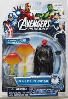 """Hasbro Avengers Assemble 3.75"""" Red Skull Figure"""